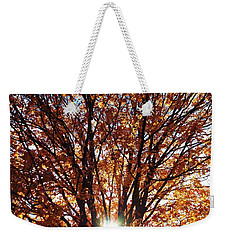 Fall Light Weekender Tote Bag