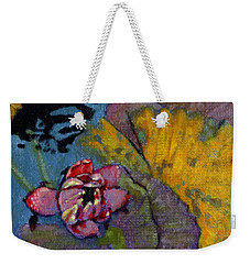 Fall Lily Weekender Tote Bag