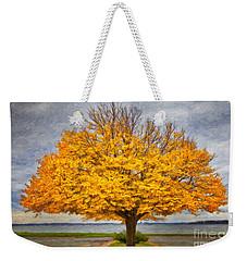 Fall Linden Weekender Tote Bag by Verena Matthew