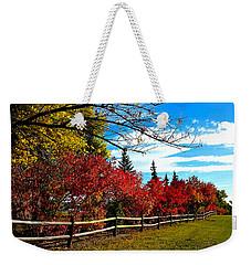Fall Lineup Weekender Tote Bag