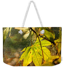 Fall Weekender Tote Bag by Liz  Alderdice