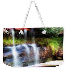 Weekender Tote Bag featuring the photograph Fall by Miroslava Jurcik