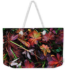 Fall Mix Weekender Tote Bag by Janice Westerberg