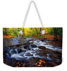 Fall On Fountain Creek Weekender Tote Bag