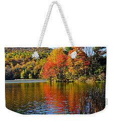 Fall Reflection Weekender Tote Bag by Todd Hostetter