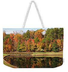 Fall Reflections Three Weekender Tote Bag