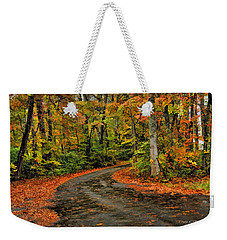 Fall Road To Glory Weekender Tote Bag by Kenny Francis