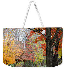 Fall Tranquility Weekender Tote Bag