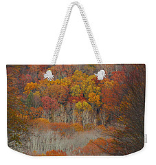 Fall Tunnel Weekender Tote Bag