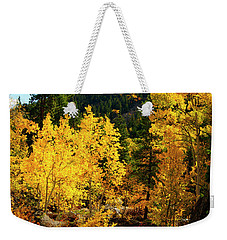 Fall2 Weekender Tote Bag by Jeremy Rhoades
