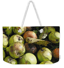Fallen Aplles Weekender Tote Bag by Ron Harpham