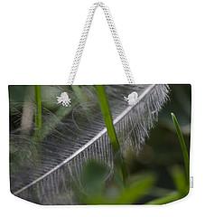 Fallen Feather Weekender Tote Bag