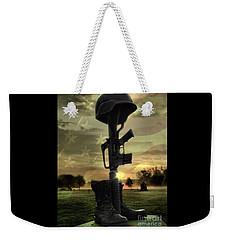 Fallen Soldiers Memorial Weekender Tote Bag