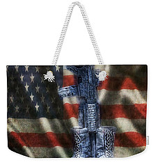 Fallen Soldiers Memorial Weekender Tote Bag