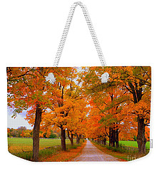 Falling For Romance Weekender Tote Bag by Lingfai Leung