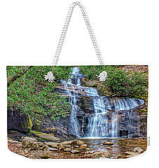 Falling From Mount Mitchell Weekender Tote Bag
