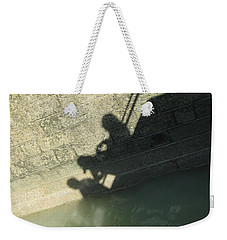 Falling Into The Water Weekender Tote Bag by Menega Sabidussi
