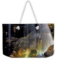 Falls And Rainbow Weekender Tote Bag