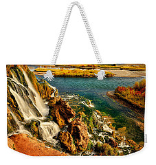 Weekender Tote Bag featuring the photograph Falls Creek Waterfall by Greg Norrell