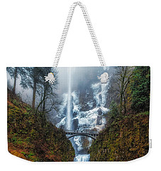 Falls Of Heaven Weekender Tote Bag