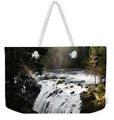 Waterfall Magic Weekender Tote Bag by Marilyn Wilson