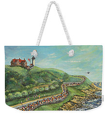 Falmouth Road Race Weekender Tote Bag