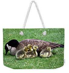 Family Gathering Weekender Tote Bag