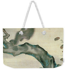 Family Of Monkeys In A Tree Weekender Tote Bag