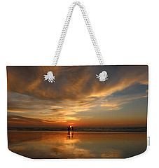 Family Reflections At Sunset - 2 Weekender Tote Bag