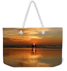 Family Reflections At Sunset -3  Weekender Tote Bag