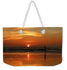 Family Reflections At Sunset - 4 Weekender Tote Bag