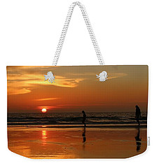 Family Reflections At Sunset - 5 Weekender Tote Bag