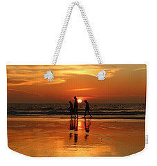 Family Reflections At Sunset - 1 Weekender Tote Bag