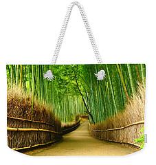 Famous Bamboo Grove At Arashiyama Weekender Tote Bag