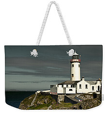 Weekender Tote Bag featuring the photograph Fanad Head Lighthouse by Jane McIlroy