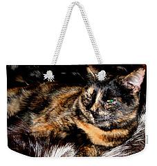 Fancy Cat Weekender Tote Bag