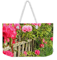 Fancy Fence Weekender Tote Bag