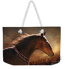 Fancy Free Weekender Tote Bag by Michelle Twohig
