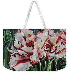 Fancy Parrot Tulips Weekender Tote Bag
