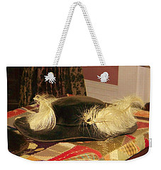 Weekender Tote Bag featuring the photograph Fancy That by Jean Goodwin Brooks