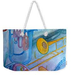 Fanfare Weekender Tote Bag