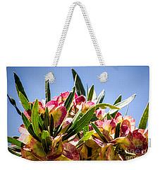Fanned Flowers Weekender Tote Bag