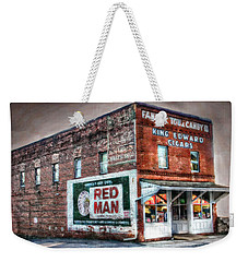 Fannin Tobacco And Candy Company Weekender Tote Bag