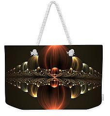 Weekender Tote Bag featuring the digital art Fantastic Skyline by Gabiw Art