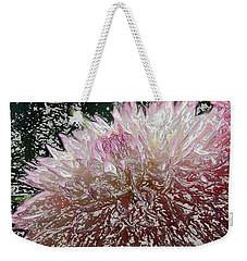Fantasy Dahlia Weekender Tote Bag by Denyse Duhaime