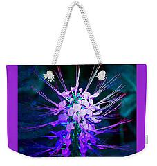 Fantasy Flowers 4 Weekender Tote Bag