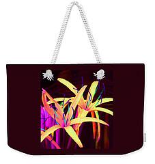 Fantasy Flowers 7 Weekender Tote Bag