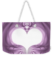 Fantasy Hearts Weekender Tote Bag