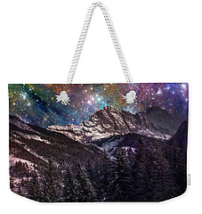 Fantasy Mountain Landscape Weekender Tote Bag