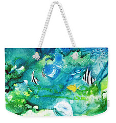 Fantasy Sea Weekender Tote Bag by Joan Hartenstein